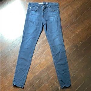 AG Mid-Rise Legging Jeans